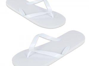 Infradito neutra colore bianco per centri benessere, piscine, spa, alberghi.