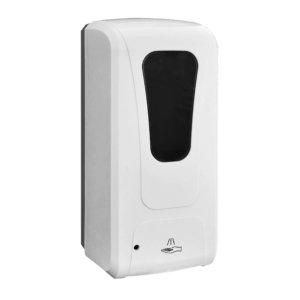 dispenser igienizzante mani con sensore vista lato sinistro