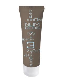 Shampoo in flacone color terra 30ml per hotel della linea di cortesia Numbers